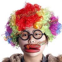 Толстые губы Хэллоуин проп большие красные губы
