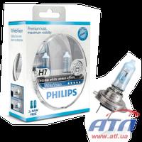 Лампа 12972WHVSM H7 55W 12V WhiteVision +60% (4300K)  PACK x2