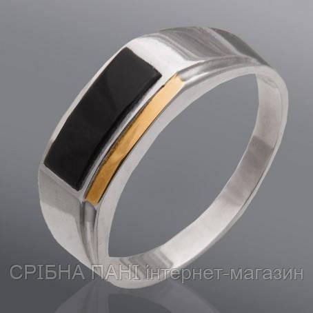 6a52e1612ef0 Печатка мужская серебро 925 с золотом  продажа, цена в Броварах ...