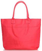 Яркая женская красная сумка POOLPARTY poolparty-paradise-red-none