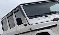 Дефлекторы окон (ветровики) Mercedes G-class W463, фото 1