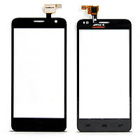 Сенсор ALCATEL Idol Mini 6012, 6012X, 6012D black, тач скрин для телефона смартфона