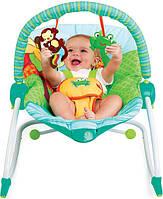 Кресло-качалка Bright Starts 60127 Зоопарк до 18кг