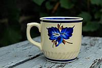 Чашка Тернополь синий лист
