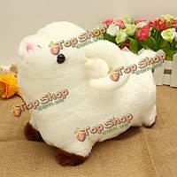 Симпатичная белая овечка плюшевая кукла-малыш мягкая игрушка подарок