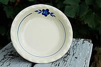 Тарелка с синей росписью