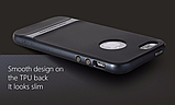 Чехол бампер Rock Royce Series для Apple iPhone 5 / 5S / 5SE - Navy Blue, фото 2