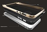 Чехол бампер Rock Royce Series для Apple iPhone 5 / 5S / 5SE - Navy Blue, фото 7
