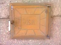"""✅ Дверка топочная печная чугунная """"КЛ"""" (размер - 27 х 28 см, вес - 7 кг)"""