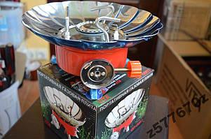Плита портативная с лепестками от ветра (диаметр 13 см)