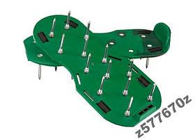 Аэратор ножной для газона, сандалии PALISAD