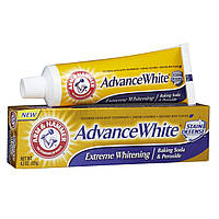 "Зубная паста ""Экстремальное отбеливание"" Arm & Hammer Dental Care Advance White Extreme Whitening Baking Soda , фото 1"