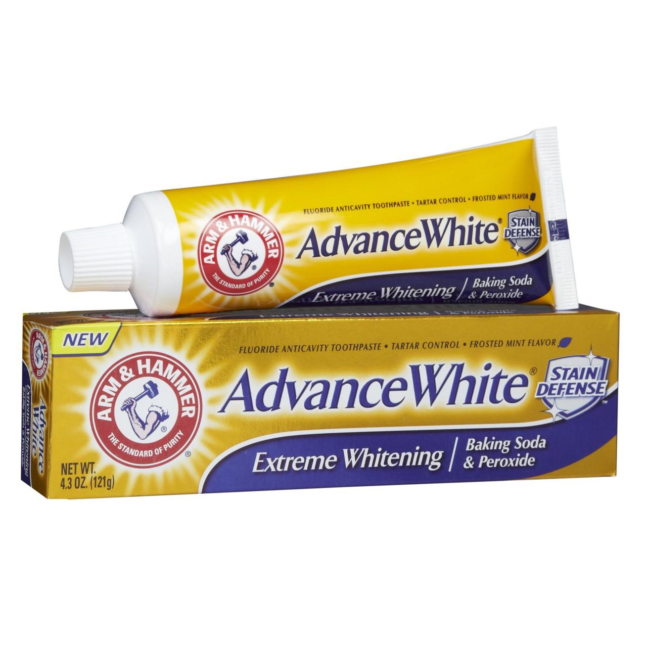 "Зубная паста ""Экстремальное отбеливание"" Arm & Hammer Dental Care Advance White Extreme Whitening Baking Soda"