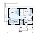 Проект Дома № 3,33, фото 3