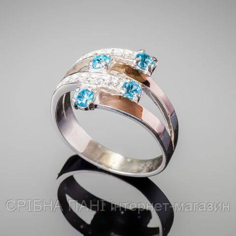 Кольцо из серебра 925  с вставками золота и фианитом  продажа, цена ... 2b81ed35321
