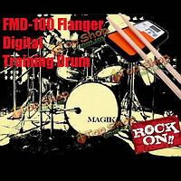 Флэнжер ящура-100 цифровой барабанщик обучения барабана практика Pad метроном