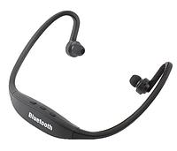 Спортивные Bluetooth наушники / MP3 плеер, черные