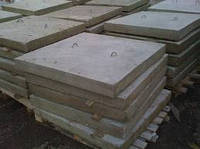 Плита тротуарная 6П5  железобетонные, плиты ЖБ, ЖБИ плиты новые и б/у. Доставка по всей Украине