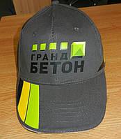 Термопечать логотипа на кепках