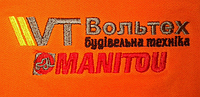 Вышивка  логотипа на кепках и футболках