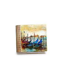 Шкатулка-книга на магните с 4 отделениями Гондолы, фото 1
