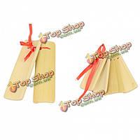 Винтажный китайский бамбука кастаньеты традиционные Аллегро инструмента
