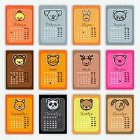 Перекидной календарь 2017, А4, `Детские картинки`