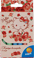 "Крейда кольорова ""Kite"" 12кол HK15-075K ""Hello Kitty"""