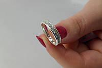Кольцо серебряное 925 пробы женское