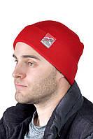 Зимняя мужская шапка с отворотом ShaDo №35