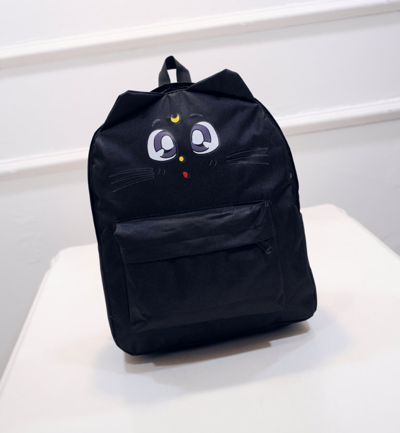 Милый аниме рюкзак кот Сейлор Мун