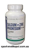 Universal Nutrition CALCIUM ZINC MAGNEZIUM 100 таб.