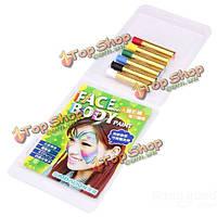 Лицо боди-арт живопись волшебный карандаш 6 цветов ручка состава