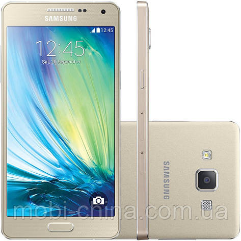 Смартфон Samsung Galaxy A5 16GB A500 Champagne Gold , фото 2