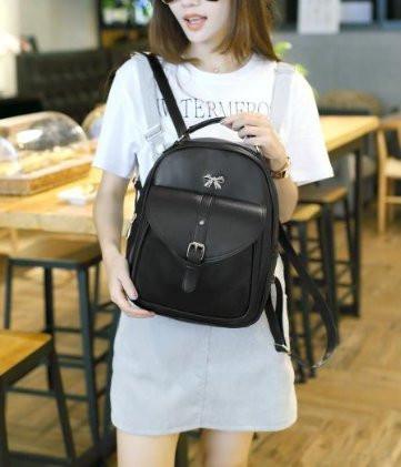 Нежный рюкзак с милым бантиком