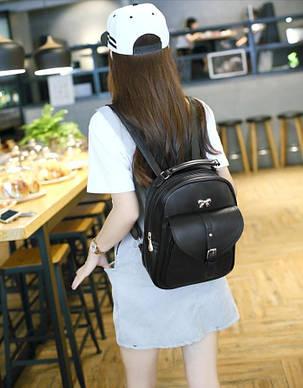 Нежный рюкзак с милым бантиком, фото 2