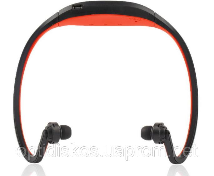 Спортивные Bluetooth наушники Красный