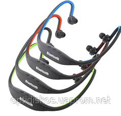 Спортивные Bluetooth наушники Красный, фото 3