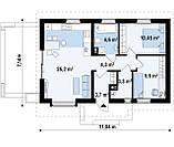 Проект Дома № 3,37, фото 5