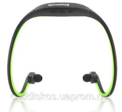 Спортивные Bluetooth наушники Зеленый