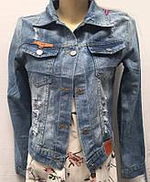 Джинсовая женская курточка 535