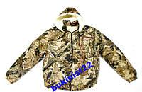 Куртка Камуфляж зимняя Овчина, с капюшоном 48,50,56,58