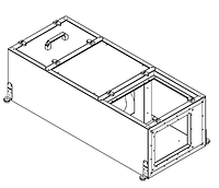 Вентиляционные установки с водяным калорифером Rest Air ST-FEV-0,9