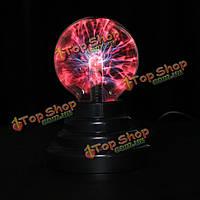 По USB плазменный шар света молнии сферы магический кристалл светильник глобус ноутбук