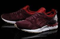 Мужские/женские кроссовки Asics (Асикс) Gel-Lyte V Rioja Red