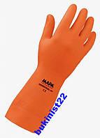 Перчатки Кислотные MAPA Industrial 299, Супер стойкие, шелочные.
