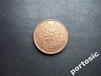 2 евроцента Австрия 2002