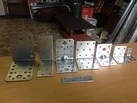Уголок крепежный усиленный 60*60*60, сталь 1,8мм