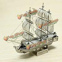 ZOYO Металлическая сборная модель корабля Черная жемчужина