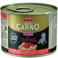 Animonda Gran Carno Junior, телячья печень и пастернак 200 гр.